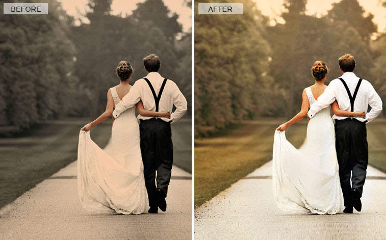 image editing solutions wedding photo enhancement services